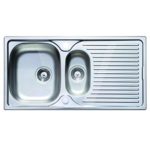 Astracast 1.5 Bowl Satin Polish Stainless Steel Sink