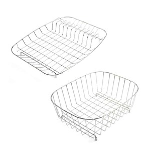 Astracast Basket Set With Main Basket & Drainer - Stainless Steel