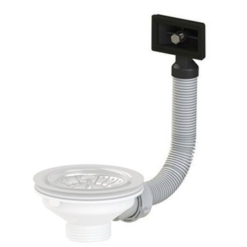 Astracast Slotted Overflow Plumbing Kit For Stainless Steel Sinks