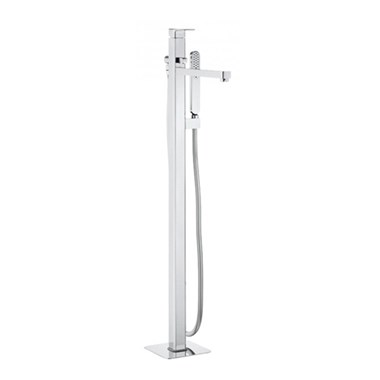 Crosswater Atoll Bath Shower Mixer Floor Standing