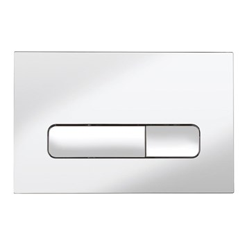 Bauhaus Atoll Chrome Flush Plate