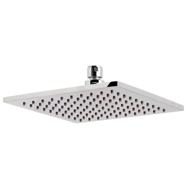 Vado Air Injection Square Aerated Shower Head 200 x 200mm