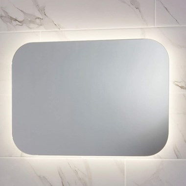 Harbour Clarity LED Bathroom Mirror with Demister Pad - 600 x 1200mm