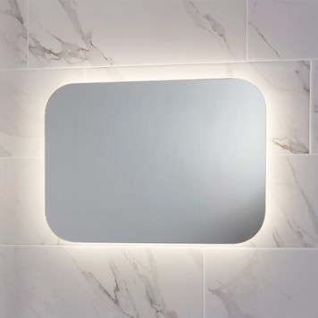 Harbour Clarity LED Bathroom Mirror with Demister Pad - 700 x 500mm