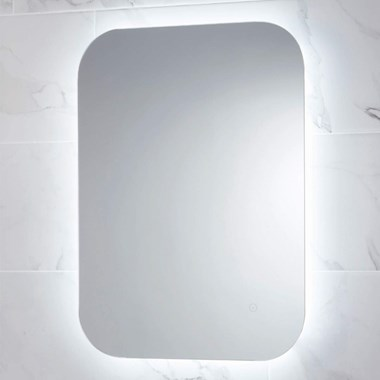 Harbour Clarity LED Bathroom Mirror with Demister Pad - 800 x 600mm