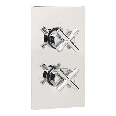 Sagittarius Avant 1 Outlet Concealed Thermostatic Shower Valve (ABS Plate)