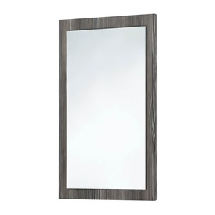 Harbour Mirror with Avola Grey Frame - 800 x 500mm
