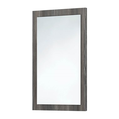 Harbour Mirror with Avola Grey Frame - 900 x 600mm