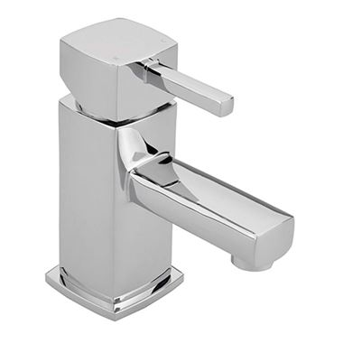 Sagittarius Axis Monobloc Basin Mixer with Clicker Waste
