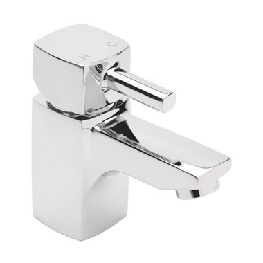 Sagittarius Axis Cloakroom Basin Mixer with Clicker Waste