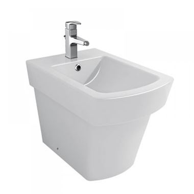 Pura Bloque Back to Wall Bidet with One Tap Hole