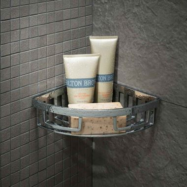 Vado Wall Mounted Removable Corner Basket