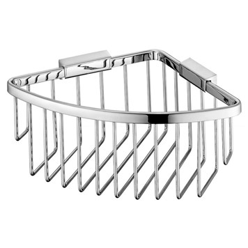 Vado Wall Mounted Large Triangular Corner Basket