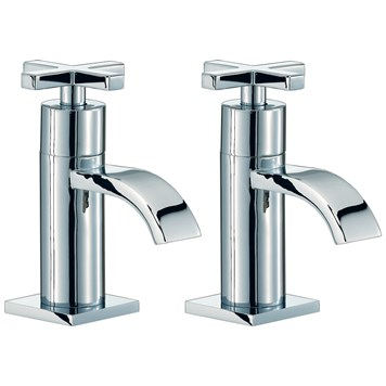 Mayfair Surf Bath Pillar Taps (Pair)