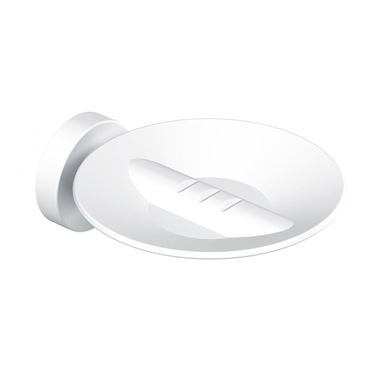 Sonia Tecno Project White Metal Soap Dish - White