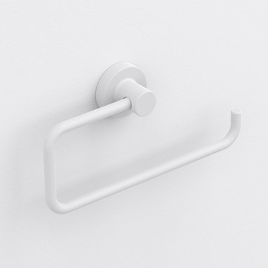 Sonia Tecno Project White Open Towel Ring - White