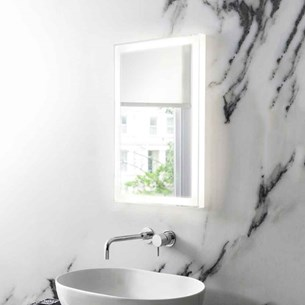 Bauhaus Dune Steam Free LED Illuminated Mirror - 400 x 600mm