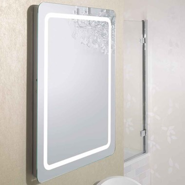 Bauhaus Celeste Back Lit Mirror - 800 x 450mm
