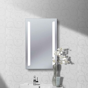 Bauhaus Elite 50 Back Lit Mirror - 800 x 500mm