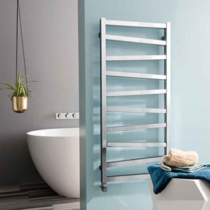 Bauhaus Wedge Towel Rail in Chrome - 500 x 1096mm