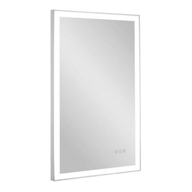 Bauhaus Dune Steam Free LED Illuminated Mirror - 500 x 800mm
