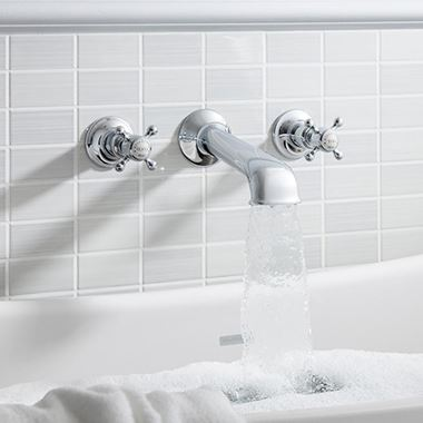 Crosswater Belgravia Crosshead Wall Mounted Bath Spout