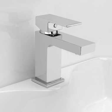 Vellamo Aspire Basin Mixer with Clicker Waste