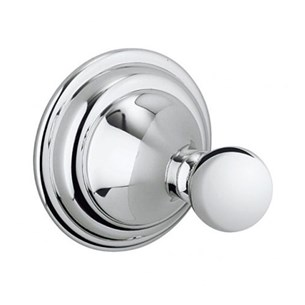 Crosswater Belgravia Single Robe Hook Chrome