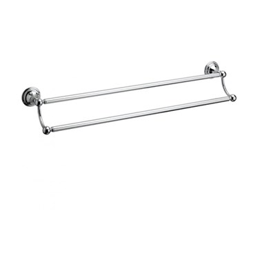 Crosswater Belgravia Double Towel Rail 60cm Chrome