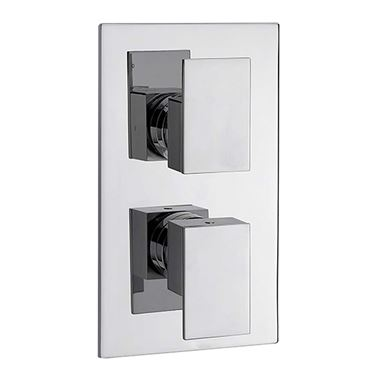 Sagittarius Blade 2 Outlet Concealed Thermostatic Shower Valve