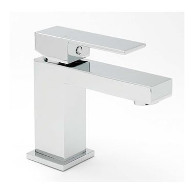 Sagittarius Blade Cloakroom Basin Mixer with Clicker Waste