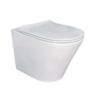 Imex Blade Rimless Wall Hung Toilet and Soft Close Seat