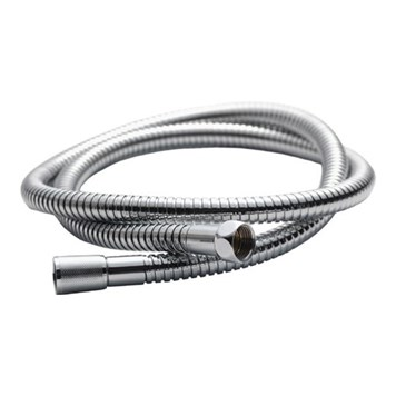 Pura chrome plated 12mm bore double-lock hose 1500mm
