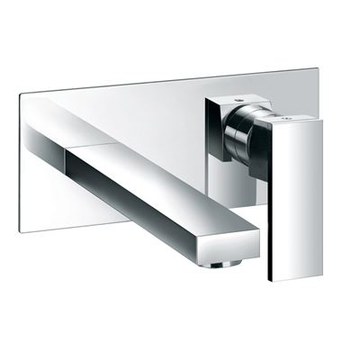 Vellamo Pixo 2 Hole Wall Mounted Basin Mixer