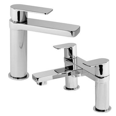 Vellamo Breeze Basin Mixer & Bath Filler Package