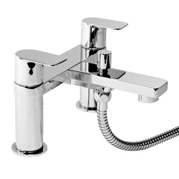 Vellamo Breeze Bath Shower Mixer with Shower Kit