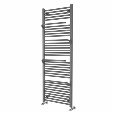 Brenton Peak Anthracite Heated Towel Rail - 1500 x 500mm