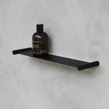 Britton Bathrooms Hoxton Shelf - Matt Black