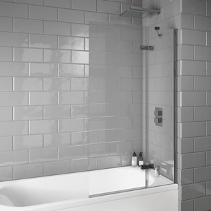 Harbour i8 Extended Bath Screen - 1500 x 900mm