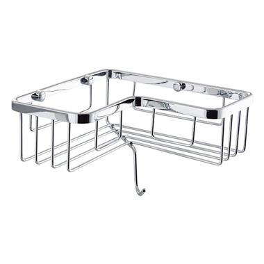 Vellamo Single Tier Rectangular Corner Basket