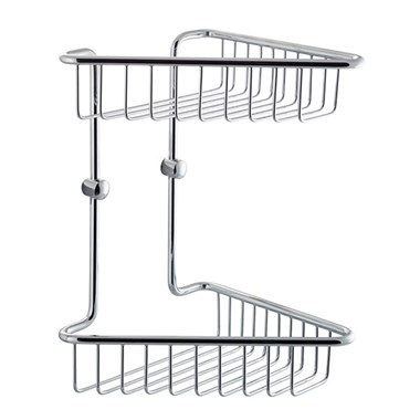 Vellamo Double Tier Shower Basket