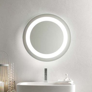 Bathroom Origins Halo Mirror