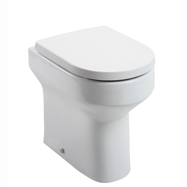 Lark Comfort Height Back to Wall Toilet and Soft Close Seat