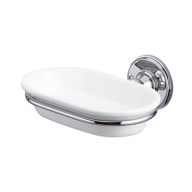 Burlington Wall Mounted Ceramic Soap Dish