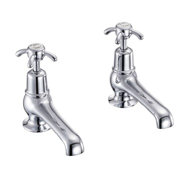 Burlington Anglesey 5 Inch Basin Pillar Taps