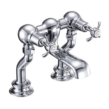 Burlington Anglesey Regent Deck Mounted Bath Filler Tap