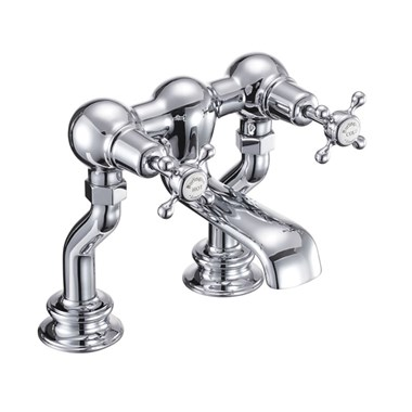 Burlington Claremont Regent Deck Mounted Bath Filler Tap