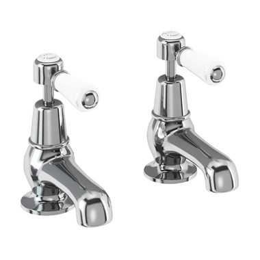 Burlington Kensington 3 Inch Basin Pillar Taps
