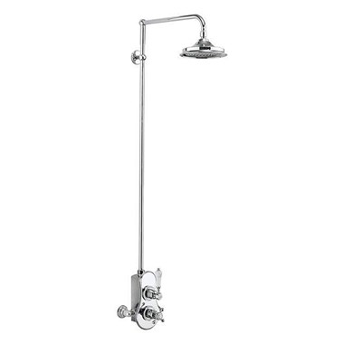 Burlington Spey Exposed Thermostatic Shower Kit with AirBurst Shower Head