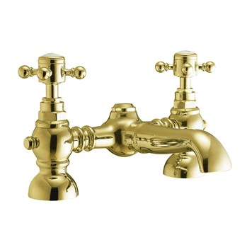 Butler & Rose Beatrice Brushed Brass Bath Filler